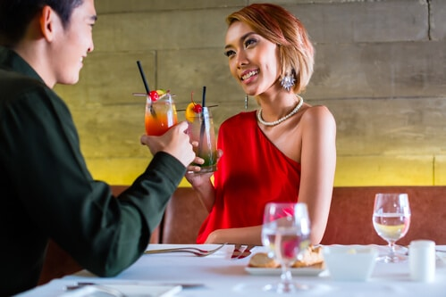 Drinking Etiquette Tips for a First Date