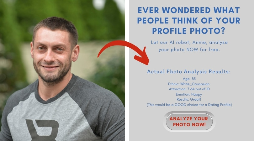 ask annie the AI profile photo analysis tool