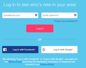 Login and password zoosk Zoosk