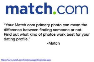 Match.com Dating Profile Photos