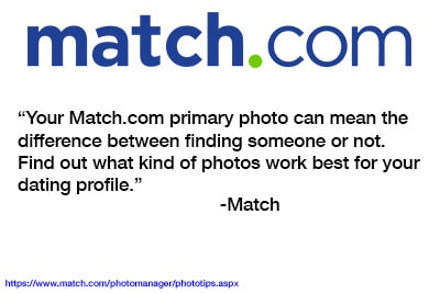 Match.com dating profile photo is important