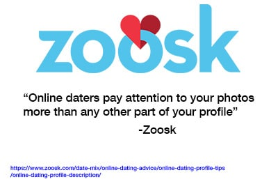 Zoosk says your profile photos are key